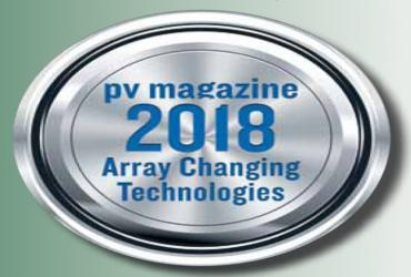 A+ Sun Systems solar tensile structures among the 20 most promising technologies in PV market