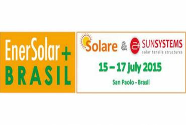 Casa Solare and A+SunSystems with ENERSOLAR 15-17 July 2015, São Paulo - Brazil