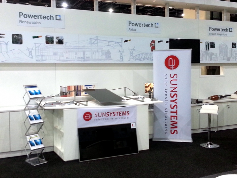 2014 03 11 – A+ Sun Systems at Power&Electricity World Africa